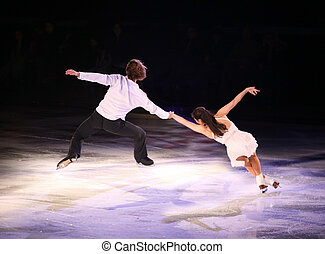 Figure skaters - Professional figure skaters performing at ...