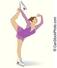 figure skating, female