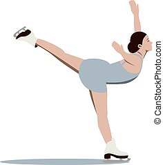 Figure skating girl