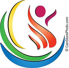 Figure spa logo - Figure spa creative logo