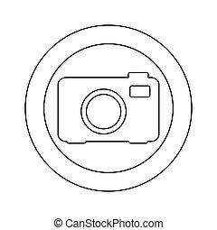figure symbol camera icon