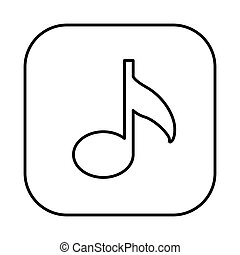 figure symbol music icon