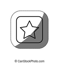 figure symbol star icon
