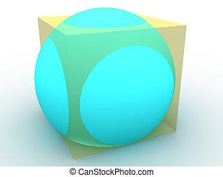 figure., tridimensionnel