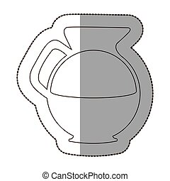 figure water pitcher icon