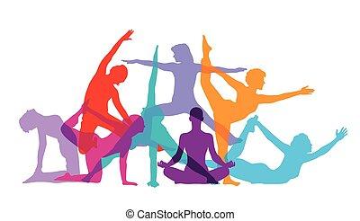 figuren, gym-yoga