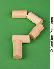 figures for the Russian game kubb - figures for the Russian...