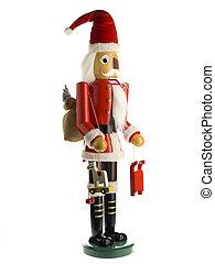 figurine of a santa claus