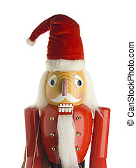 figurine of santa claus against white background