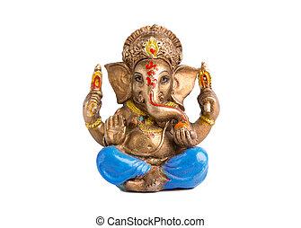 Figurine of the god Ganesha.