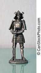 Figurine Samurai katana
