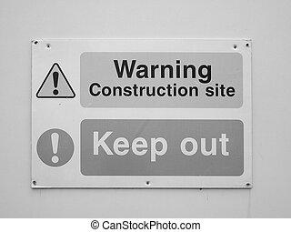 figyelmeztetés, biztonság, aláír