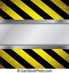 figyelmeztetés, vonal, háttér