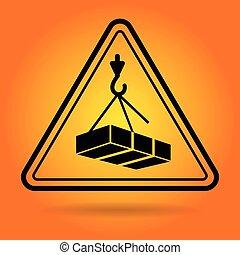 figyelmeztet, biztonság, aláír, ikon
