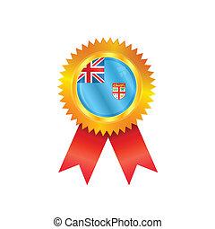 Fiji medal flag