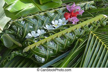 fijian, cibo cucina, sotterraneo, -, lovo