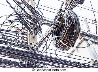 fil, électrique