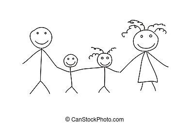 fil, famille