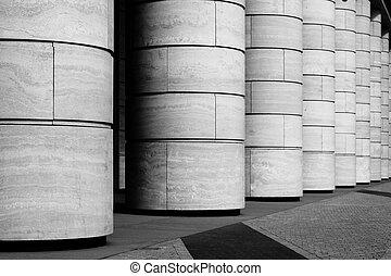 fila, de, columnas