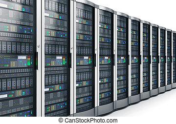 fila, sistema servizio, dati, rete, centro