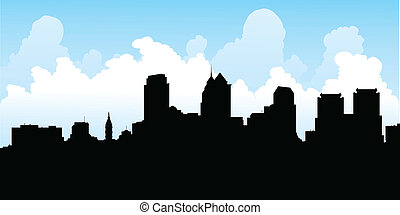 filadélfia, skyline