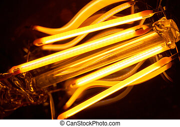 Filament - Light-emitting diodes constructed as filament ...