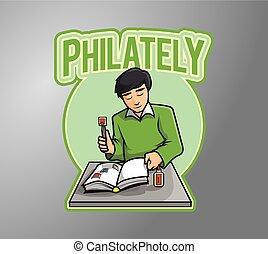 filatelia, recaudador
