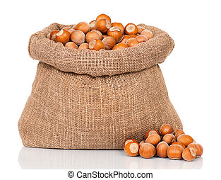 Filberts in bag