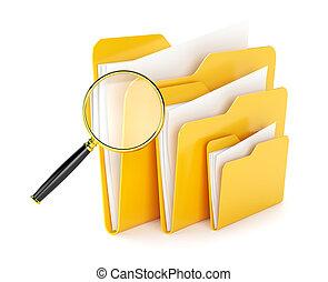 file, cartella, ricerca
