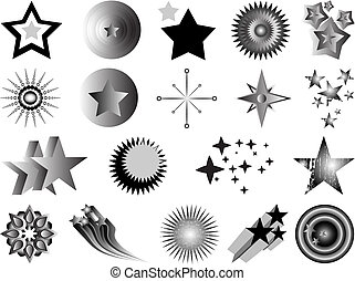 file contains 19 elements (asterisks) for drawing pattern and ornament