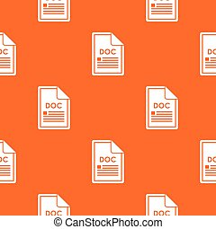 File DOC pattern seamless