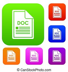 File DOC set collection