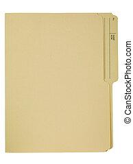 file folder 1 - Empty File Folder