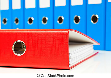 File folder with documents and documents - File folders with...