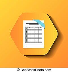 file format button icon