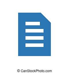 file glyph color icon