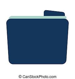 File icon. Flat Vector illustration on white background.