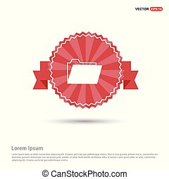 File Icon - Red Ribbon banner