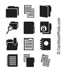file, icone