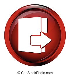 File, information button icon