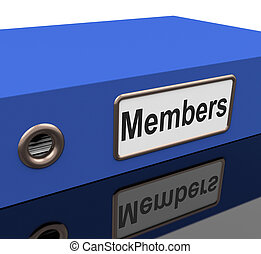 File Members Means Sign Up And Application