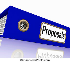 File Proposals Represents Game Plan And Activity - File...