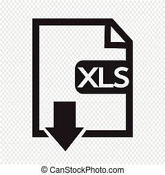 File type XLS icon