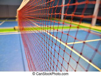 filet, badminton