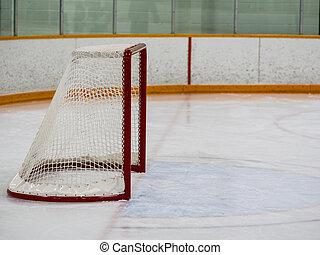 filet, hockey, vide