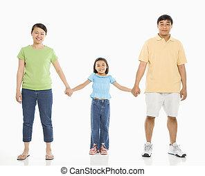filha, com, parents.