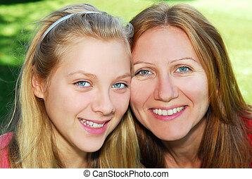 filha, mãe