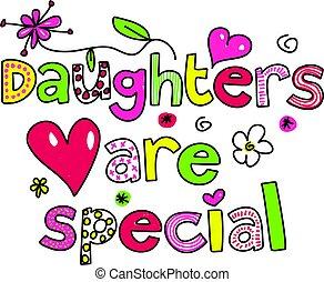 filhas, especiais