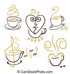 filiżanki kawy, kwestia