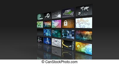 fili, media, tecnologia, sociale